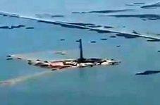 زیر آب رفتن تاسیسات نفتی در هورالعظیم/ پر شدن تالاب در هر دو سوی مرز ایران و عراق