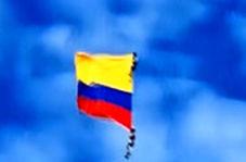 سقوط مرگبار دو نظامی هنگام اجرای یک نمایش هوایی در کلمبیا