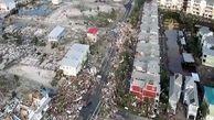 خسارات شدید طوفان مایکل در آمریکا