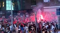 پایکوبی استانبولیها به خاطر انتخاب شهرداری که از حزب اردوغان نیست
