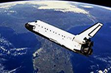 پرواز شاتل فضایی رادیوکنترلی در آسمان