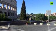 رم، پایتخت ایتالیا، در قرنطینه
