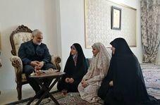 تغییر نام یکی از اعضای خانواده شهید محرابی در روز عرفه توسط سردار سلیمانی