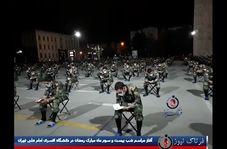 اختصاصی/ آغاز مراسم شب بیست و سوم ماه مبارک رمضان در دانشگاه افسری امام علی تهران