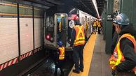 حادثهای در مترو که در ثانیههای آخر به خیر گذشت