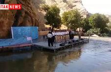 رقص زیبای هلپرکه در اولین جشنواره میوه های بهشتی