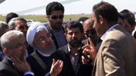 حرفهای بیواسطه کشاورز خوزستانی با رئیس جمهور