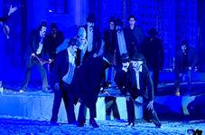 روایت زندگی رسول ترک در صحنه تئاتر