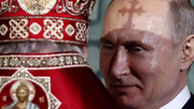 حضور پوتین در مراسم عید پاک مسیحیان ارتدوکس