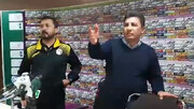 جنجال و درگیری در کنفرانس قلعهنویی به خاطر حضور هوتن و فامیل علی کریمی!
