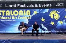 موسیقی برگزیده کردی- فارسی در جشنواره شهرلورت دمار اسپانیا