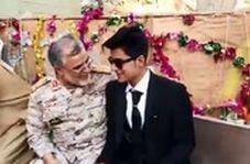 حضور سردار سپاه در یک عروسی و عذرخواهی برای ایجاد مزاحمت!