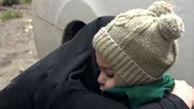 ملاقات پرستار گلوگاهی بعد از ۵۰ روز با فرزندش