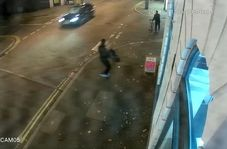 صحنه وحشتناکی که راننده آئودی در خیابان رقم زد!