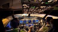 اول و آخر یک پرواز از داخل کابین خلبان