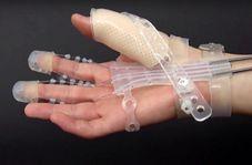 دستکش رباتیک منعطف برای معلولان!