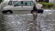 باران شدیدی که در هرمزگان سیل راه انداخت