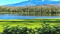 دریاچه زیبای عروس که یکی از زینتهای بینظیر کشورمان است