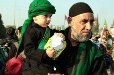 کوچکترین زائر امام حسین(ع) در پیاده روی اربعین!