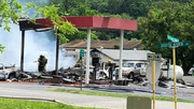 انفجار مرگبار در پمپ بنزین ویرجینیا