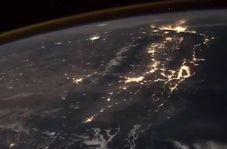 تایملپس زیبای زمین از دید ایستگاه فضایی