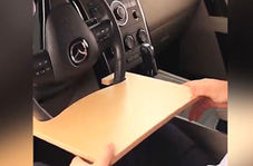 تختهای که اتومبیل شما را به دفتر کار تبدیل میکند + فیلم