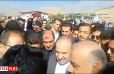 صحبت های بی پرده شهروند ثلاث باباجانی در حضور وزیر ورزش و جوانان