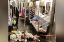 مترویی که در آن تعداد زباله از مسافر بیشتر است!
