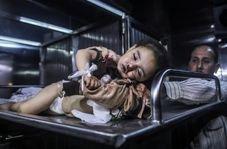 ویدئویی از بازی کردن نوزاد ۱۴ ماهه فلسطینی که بی گناه شهید شد