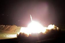 تصاویر دیده نشده از حمله سپاه به مواضع داعش در بوکمال سوریه