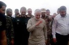 گپ و گفت سردار سلیمانی با مردم رفیع به زبان عربی
