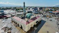 عکسالعمل نمازگزاران در لحظه وقوع زلزله ۷.۵ ریشتری اندونزی