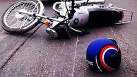موتورسواری که با بیاحتیاطی در رانندگی، مرگ خود را رقم زد!