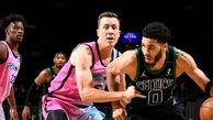 خلاصه بسکتبال میامی هیت - بوستون سلتیکس