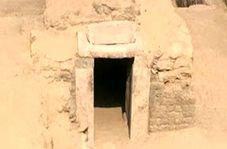کشف هفت مقبره کوچک از دوره فراعنه