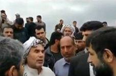 عذرخواهی استاندار خوزستان از پیرمرد سیلزده