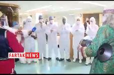 ابتلای خواننده معروف به ویروس کرونا/ خوانندگی بر روی تخت بیمارستان+ فیلم