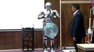 از ربات انسان نما توسط جوانان ایرانی رونمایی شد