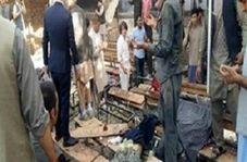 اولین تصاویر بعد از انفجار کابل، بیش از ۵۰ دانش آموز کشته و زخمی شدند