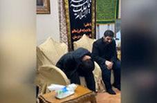 اشک های بی پایان پسر سردار سلیمانی وقتی بنی فاطمه میخواند