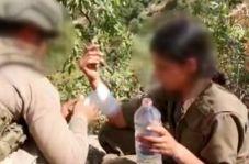 اقدام انسانی سرباز ترکیه با تروریست زن مورد تحسین قرار گرفت