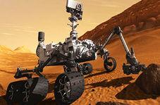 طرز نشستن ربات بر سطح مریخ
