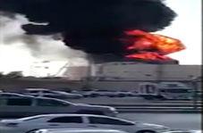 آتش سوزی در یکی از نیروگاههای برق ریاض!