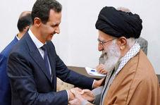 لحظه ابتدایی دیدار بشار اسد با رهبر انقلاب