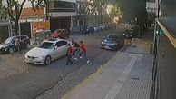 شگرد راننده برای فرار از دست سارقان مسلح خودرو