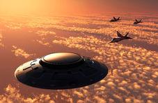 سرعت باورنکردنی یوفوی مرموز در آسمان!