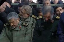 اشک های محسن رضایی در مراسم دانشگاه تهران