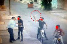 دوربین مداربسته حوزه علمیه از زورگیری با قمه در اهواز