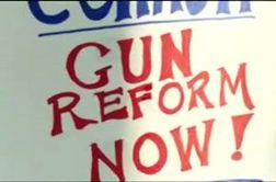 تجمع مخالفان حمل سلاح در ایالت کنتاکی + فیلم