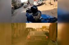 کارگردان فیلم جدید گلشیفته اینگونه روی کاپوت ماشین با سرعت 96 !